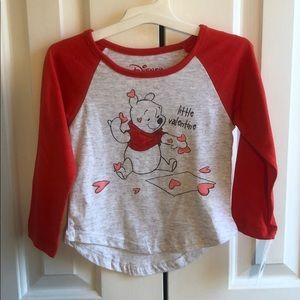 New Toddler girls 3T whinnie the poo Disney tshirt